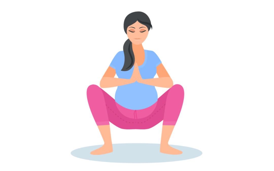 गर्भावस्था के दौरान योग- महीना 8