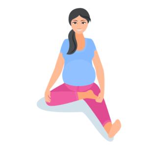 pregnancy yoga for month 1  babyindian