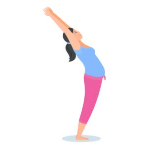 pregnancy yoga for month 4  babyindian