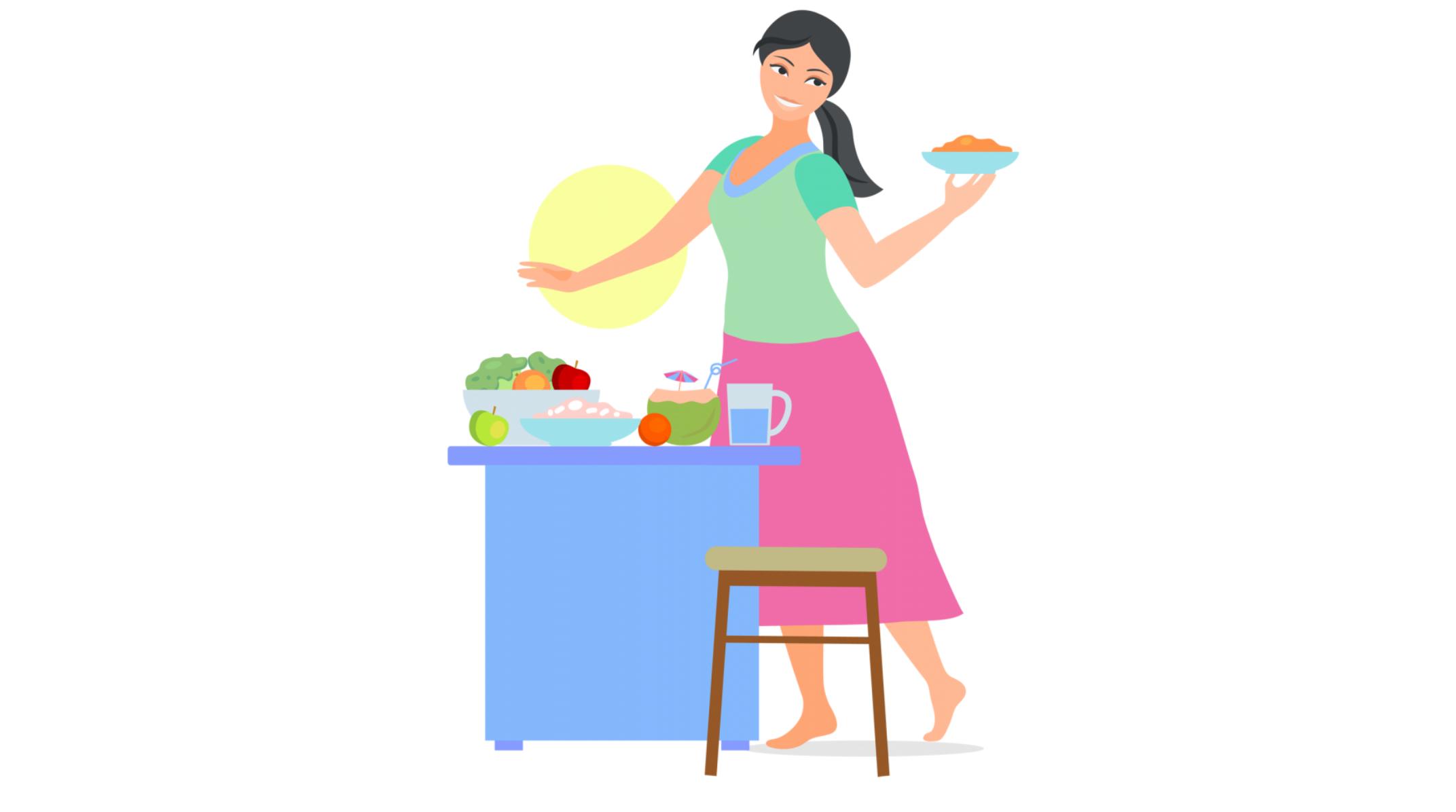 नई माँ के लिए भोजन – महीना ११