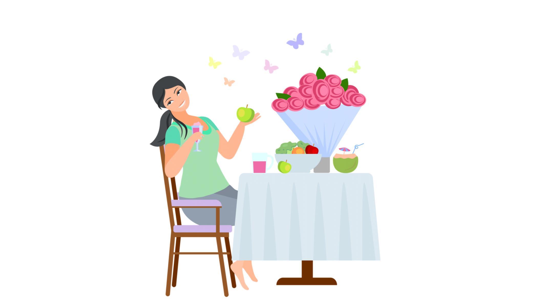 नई माँ के लिए भोजन -महीना 7