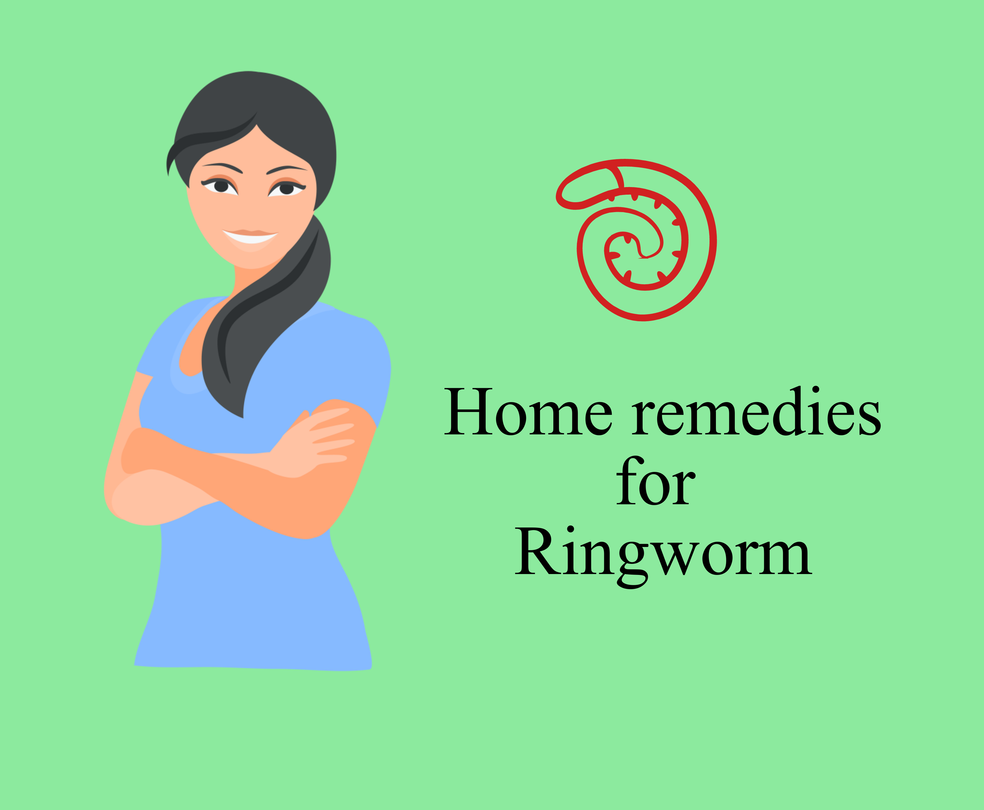 Home Remedies to cure Effective Ringworm