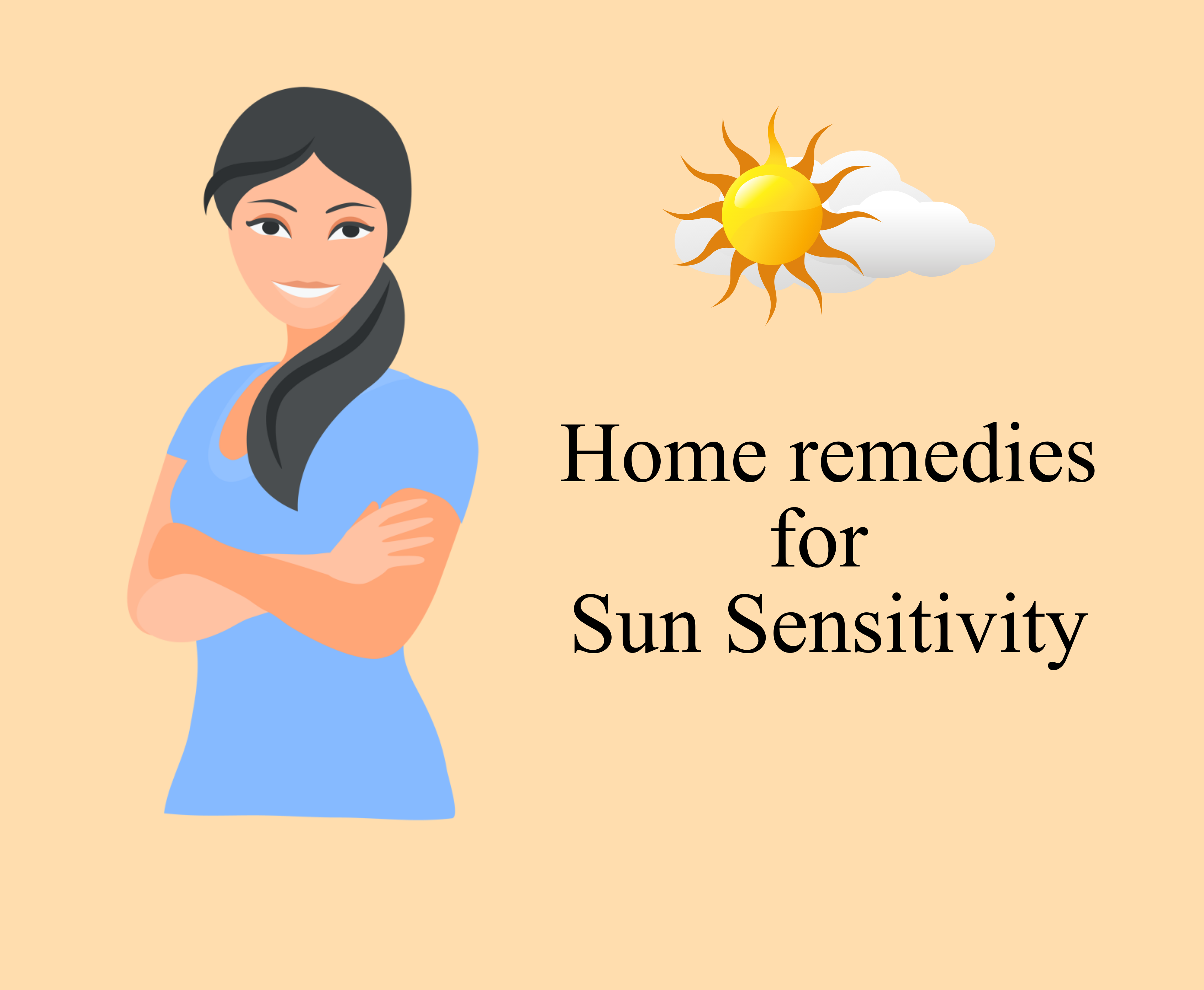 Home Remedies to cure Sun sensitivity